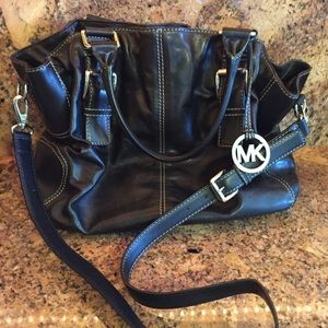 Michael Kors - Black Leather - Brand new - #A-0808